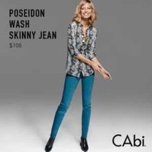 CAbi • #918 Poseidon Wash Skinny Jeans